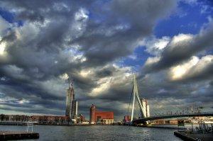 Erasmus köprüsü, Rotterdam