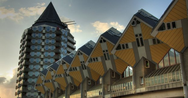 Rotterdam's cubic houses