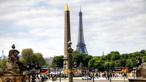 Luksor Obeliski ve Eiffel