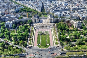 Eiffel'den Trocadero