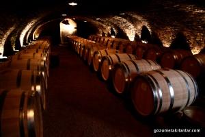 Beaune daki şarap mahseni, Parmağımı daldırdığım fıçılar