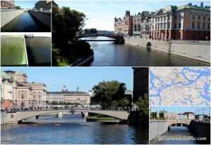 Stockholm'un kanalları